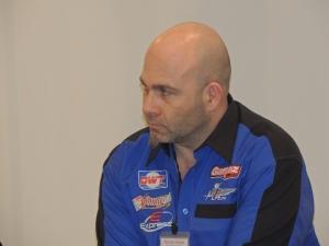 Rossano Valenti, poco prima di prendere la parola e spiegare il progetto Garpez alla platea