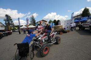 Le attività di testing, in occasione del raduno Night Ride di Bazzano.