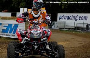 Andrea De Beni in gara